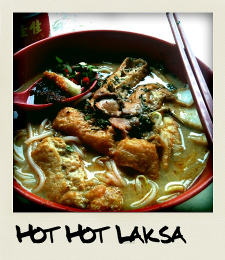 Hot Hot Spicy Laksa