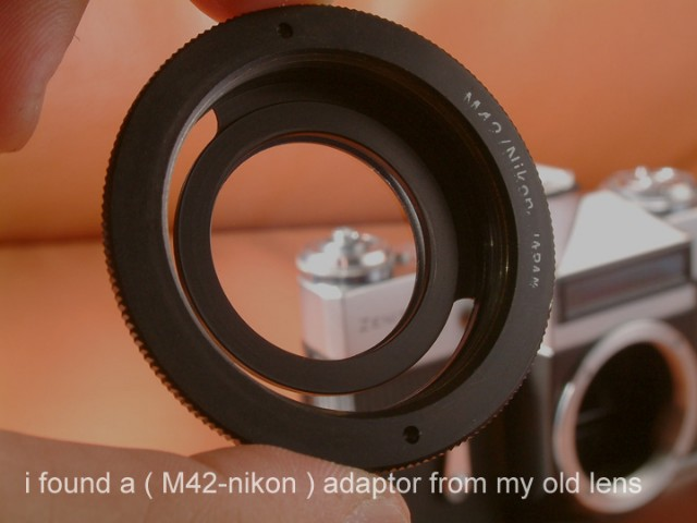 m42 To F mount adapter