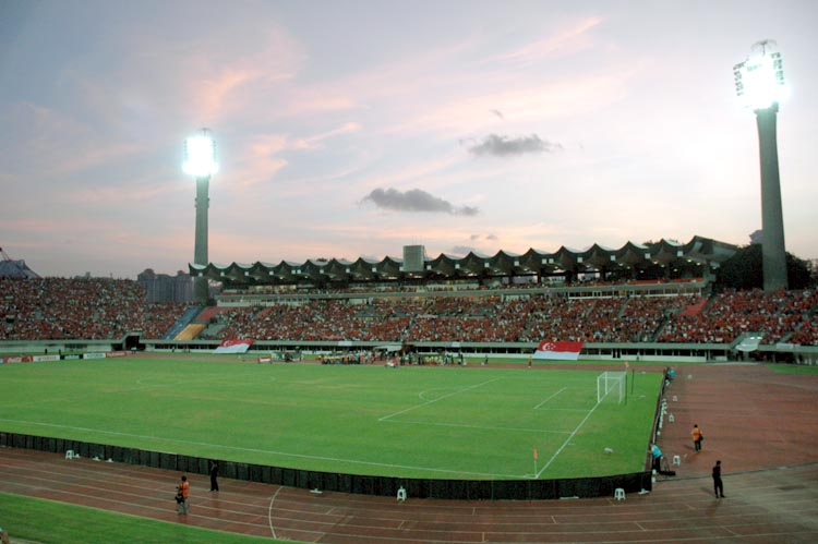 national stadium from north eastern enterance