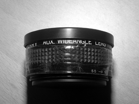 Cherry Aux. Wide Angle Lens For AF35ML (2 glass elements, 48mm thread mount