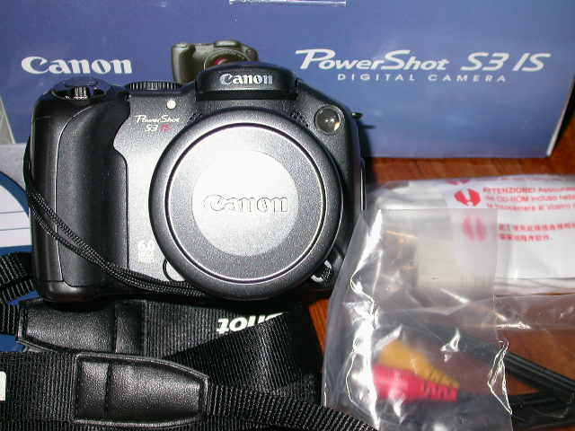 Canon S3 IS