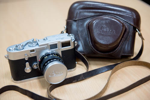 Leica M3 Double Stroke 1954 and Summicron 50 v2