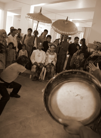 A beautiful Malay wedding
