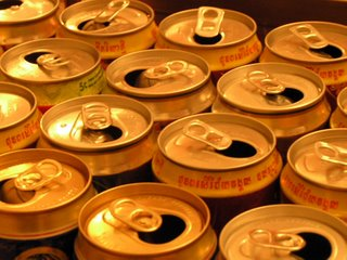 Beer Cans, Cambodia