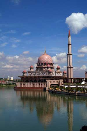 Mosque at Putrajaya