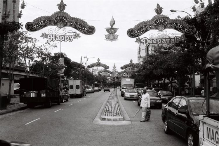 Little India street shot