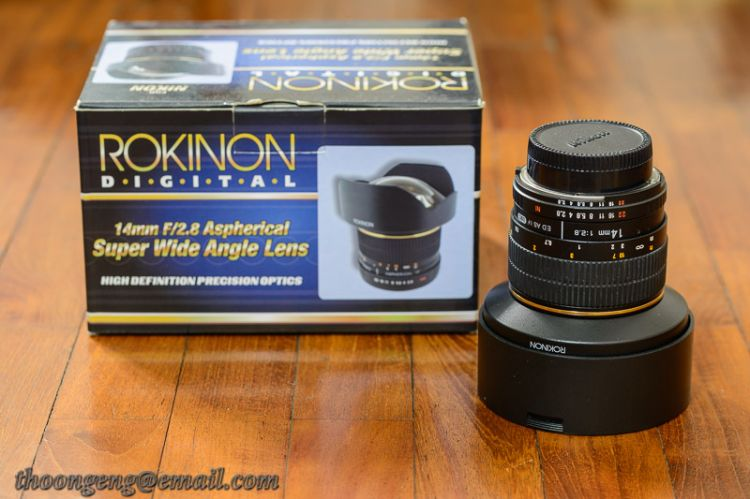Rokinon 14mm f2.8 (Nikon mount)