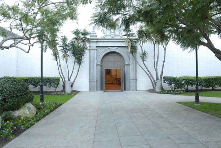 Entrance to Mission