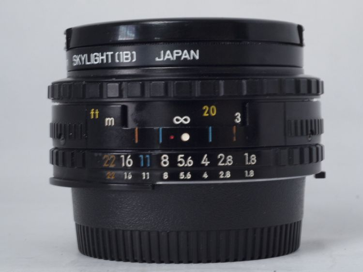 NIKON SERIES E 50mm F/1.8 PANCAKE LENS (Front View)