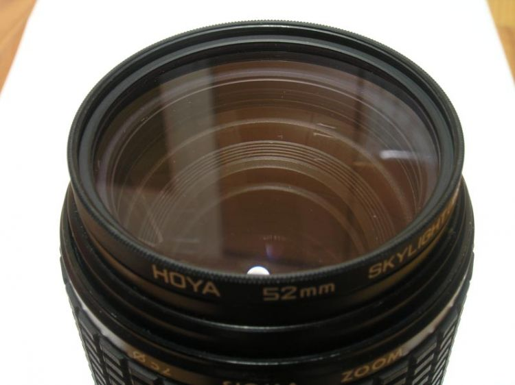 Sigma 80-200 Front lens