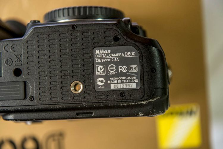 Wear mark on D600 body
