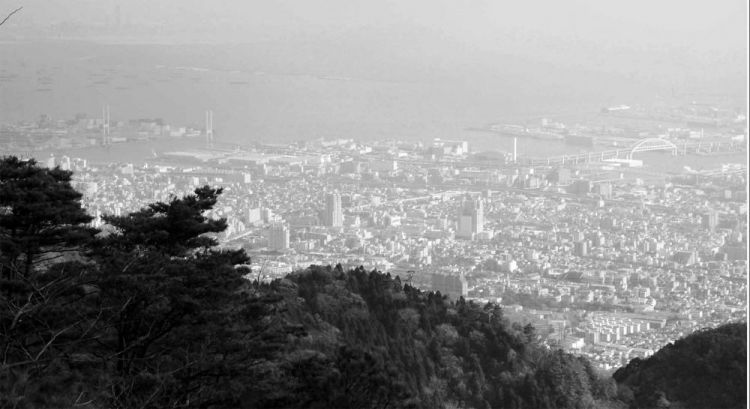 Kobe panorama from Mount Rokko