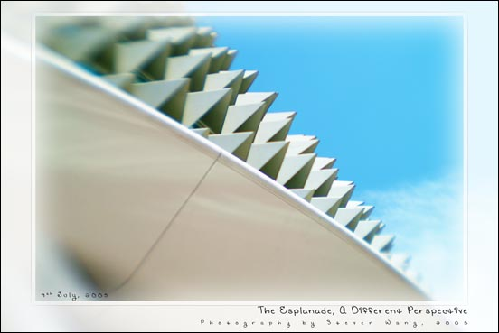 The Esplanade, A Different Perspective
