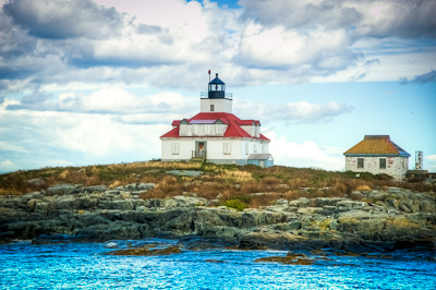 Lighthouse at Bar Harbor