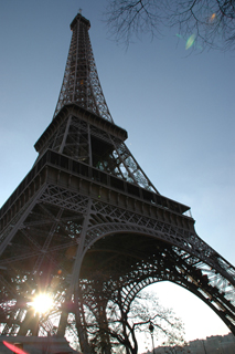 Eiffel from another angle
