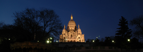Sacre Cour by Night