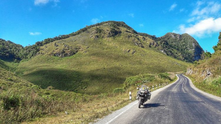 Solo Laos Motorcycle Adventure
