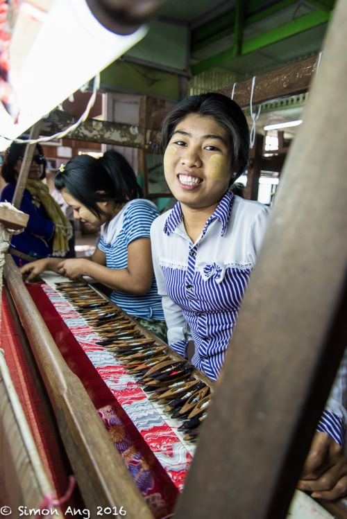 Silk Weaving @ Mandalay