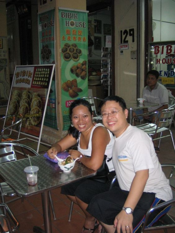 Having chendol along Jonker St in Melaka