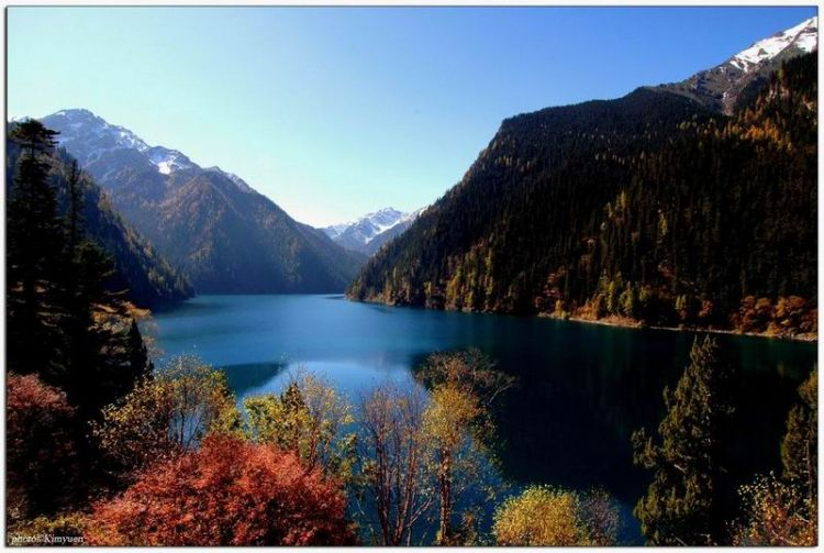 Great China - Into the fairyland, JiuZhaiGou Paradise. Oct'2005.