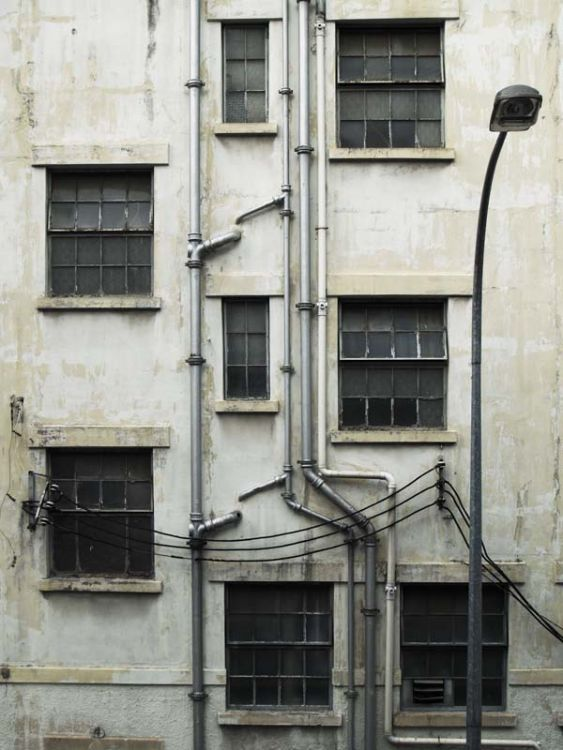 The back alley of singapore
