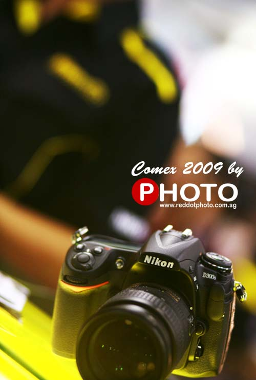 The shoot star of the show: Nikon D300s