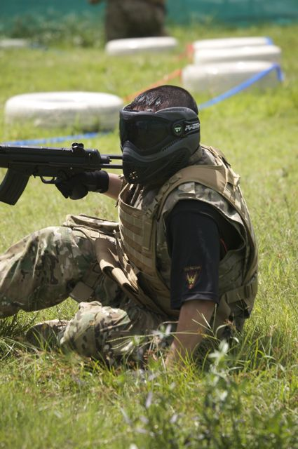 Airsoft Skirmish at Turf City