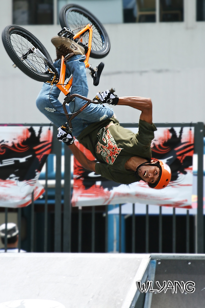 Oakley Bike Stunt Competition