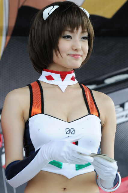 Super Gt Race Queen on Stage