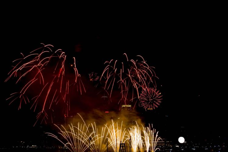 2009 New Year Fireworks display