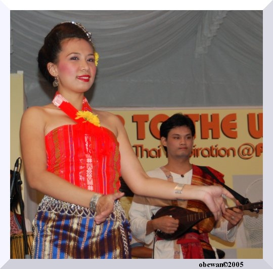 Thai Culture Dance at Bugis