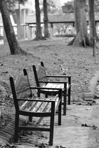 A pair of Bench for the both of us