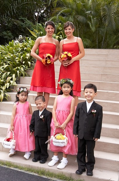 Bridesmaids, Flowergirls and Pageboys
