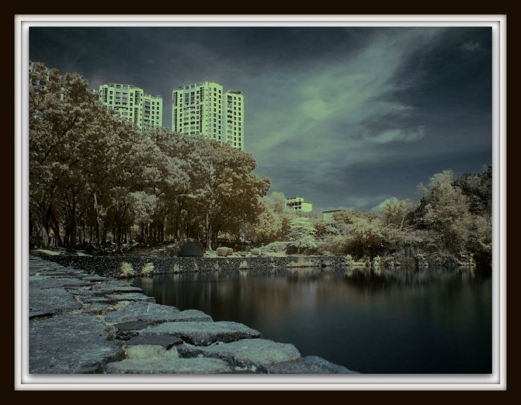Little Guilin infrared.
