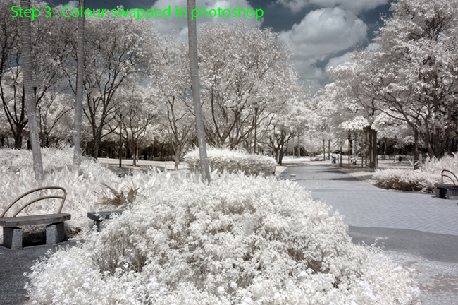 2 methods of infrared post-pocessing