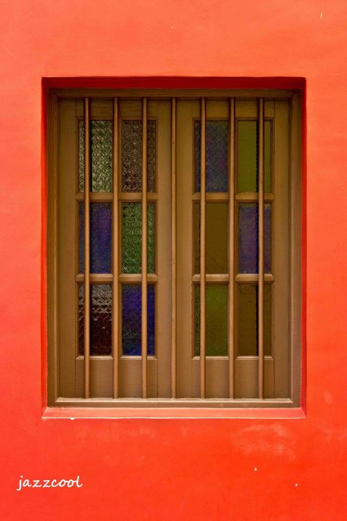 window of colours