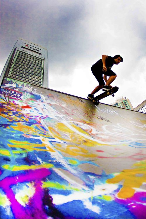 Skating with Colours